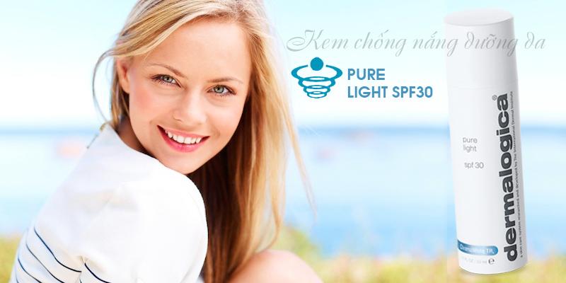 Kem chống nắng kết hợp dưỡng Pure Light SPF30