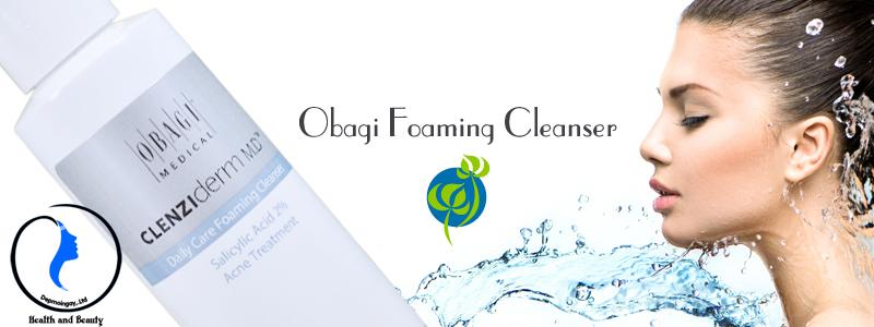 Sữa rửa mặt trị mụn Obagi Foaming Cleanser