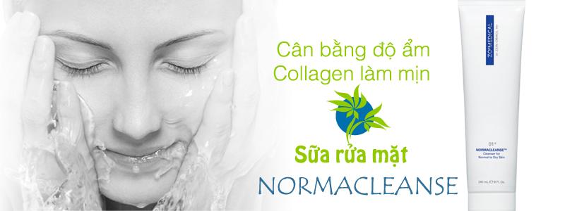 Sữa rửa mặt dịu mát Zo Normacleanse