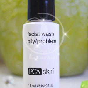 facial wash oily