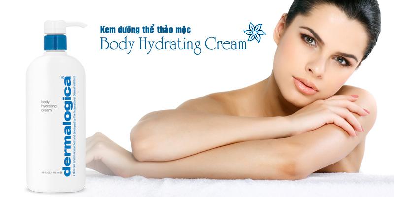 Kem dưỡng thể dầu thảo mộc Body Hydrating Cream