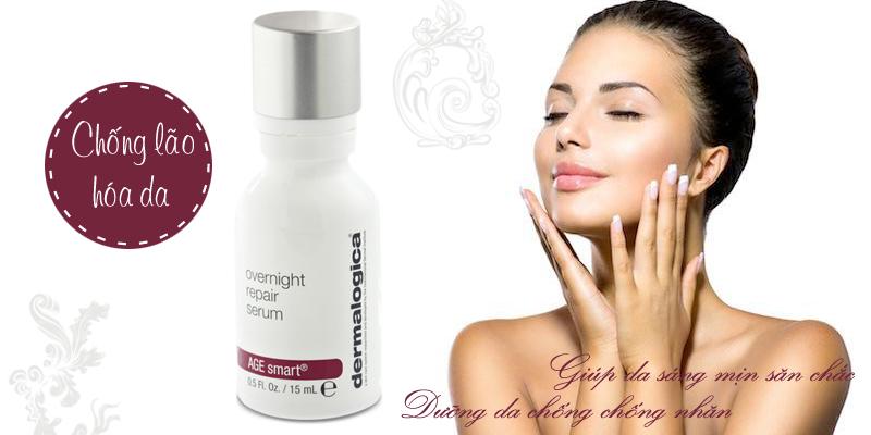 Kem dưỡng đêm chống lão hóa Overnight Repair Serum