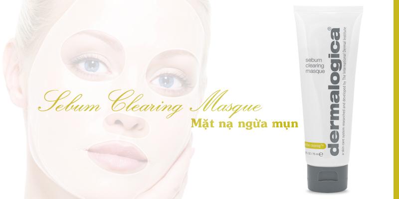 Mặt nạ Đất sét ngăn ngừa nổi mụn Sebum Clearing Masque