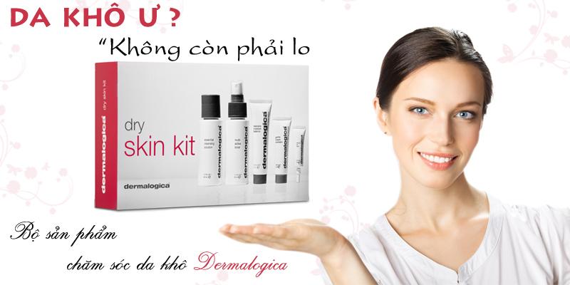 Bộ chăm sóc da khô dermalogica Basic dry skin