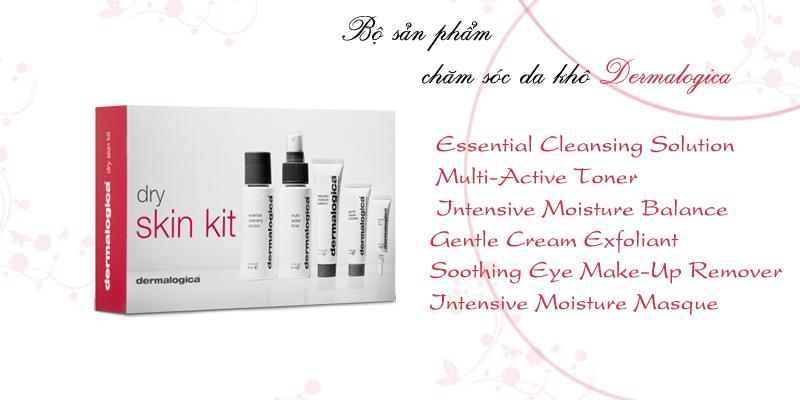 Bộ chăm sóc da khô Skin Care Basics – Dry Kit