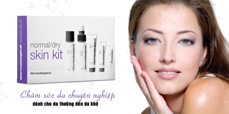 Bộ sản phẩm chăm sóc da Skin Care Basics – Normal Kit