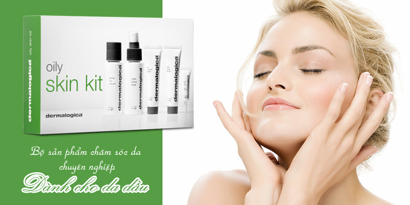 Bộ sản phẩm chăm sóc da dầu Skin Care Basics