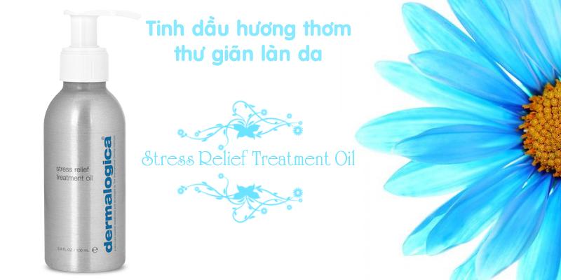 Tinh dầu hương thơm Stress Relief Treatment Oil