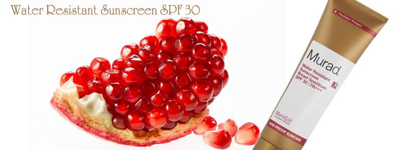 Kem chống nắng chịu nước Water Resistant Sunscreen SPF 30