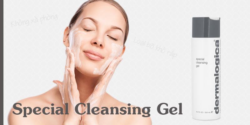 Sữa rửa mặt da khô Special Cleansing Gel