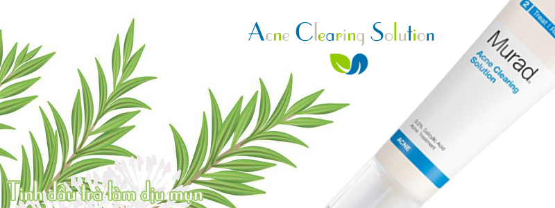 Kem trị mụn Acne Clearing Solution
