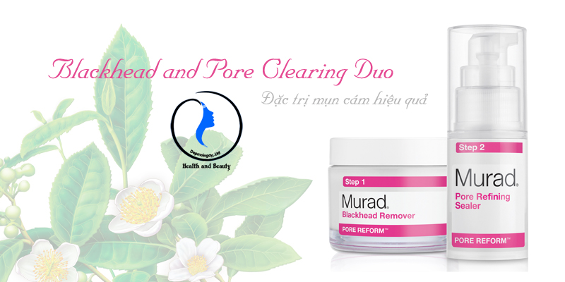 Bộ trị mụn cám Murad Blackhead and Pore Clearing Duo