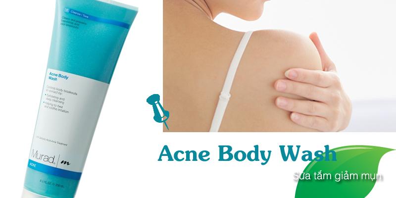 Sữa tắm giảm mụn Blemish Body Wash