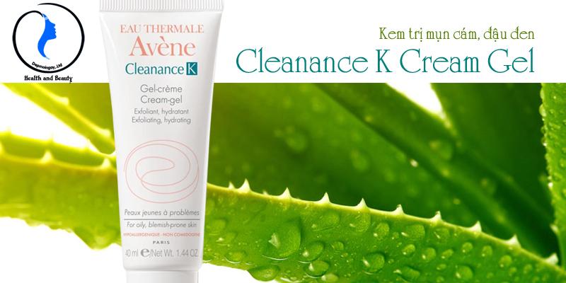 Kem ngừa mụn cám, mụn đầu đen Cleanance K Cream Gel 40ml