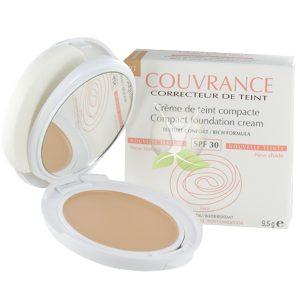 Kem nền trang điểm dạng nén Couvrance Compact Foundation Cream Porcelain 10g