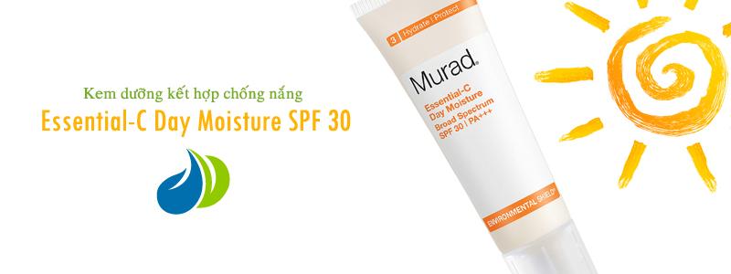 Kem dưỡng kết hợp chống nắng Essential-C Day Moisture SPF 30