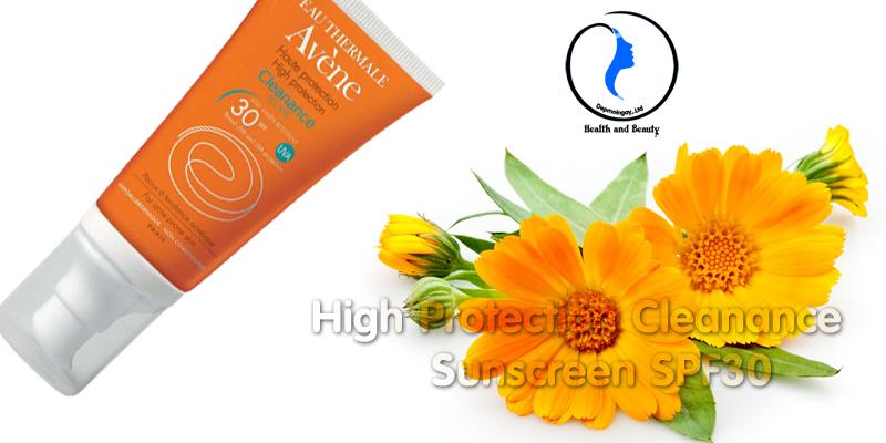 Kem chống nắng High Protection Cleanance Sunscreen SPF30 50ml dành cho da mụn