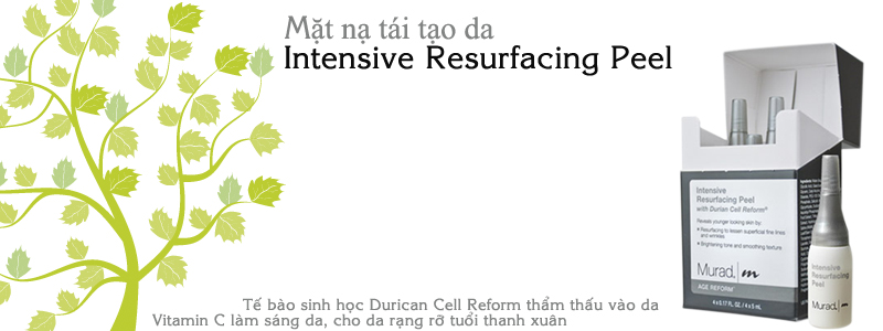 Mặt nạ tái tạo da Intensive Resurfacing Peel