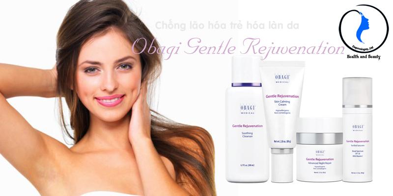 Bộ sản phẩm trị lão hóa da nhạy cảm Obagi Gentle Rejuvenation