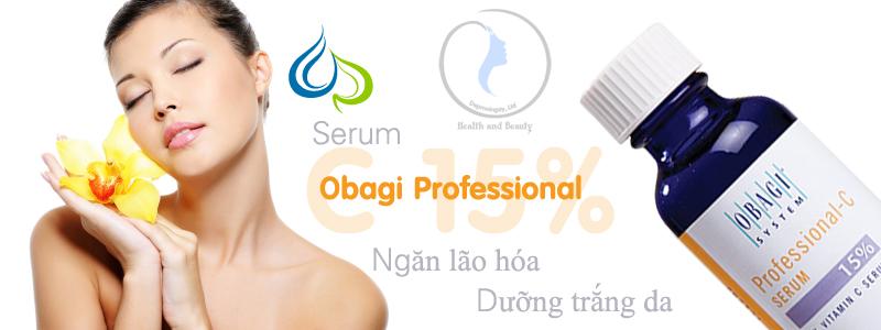 Serum Vitamin C dưỡng trắng ngăn lão hóa Obagi Professional C 15%