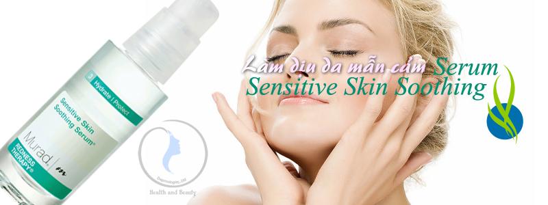 Serum làm dịu da mẫn cảm Sensitive Skin Soothing Serum