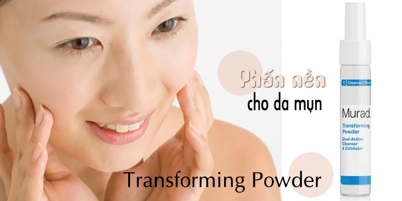 Phần nền cho da mụn Transforming Powder