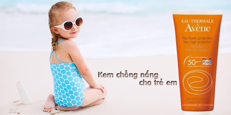 Kem chống nắng Very High Protection Lotion For Children 50+ 100ml dành cho trẻ em