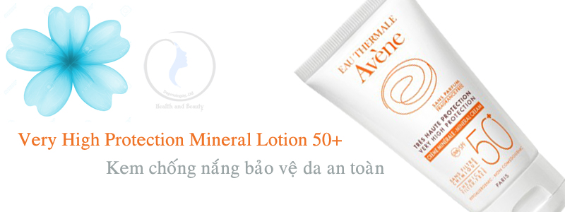 Kem chống nắng Very High Protection Mineral Lotion 50+ 100ml