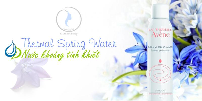 Nước khoáng làm dịu chống kích ứng da Thermal Spring Water 150 ml