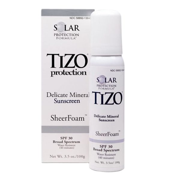 Kem chống nắng Tizo SheerFoam™ Sun Protection SPF 30