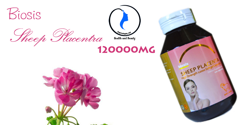 Nhau thai cừu Biosis Sheep Placenta – 12000 mg