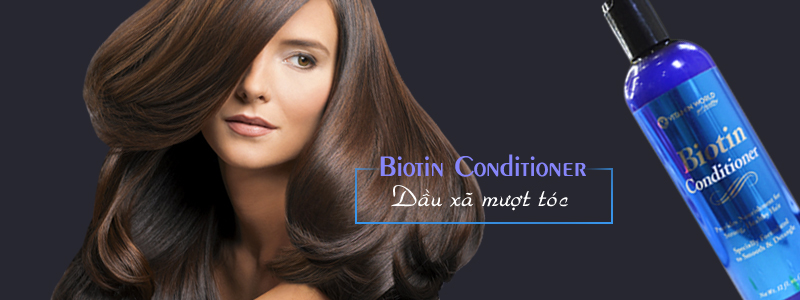 Dầu xả tóc Biotin Conditioner Vitamin World