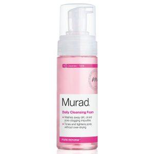 Sữa rửa mặt trị mụn Murad Daily Cleansing Foam