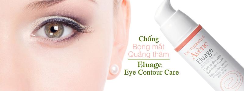Kem chống bọng mắt, thâm quầng Eluage Eye Contour Care 15ml