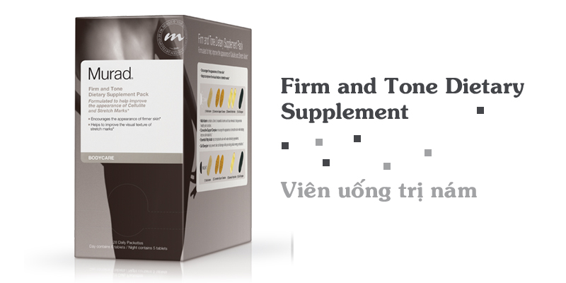 Viên uống trị nám Firm and Tone Dietary Supplement