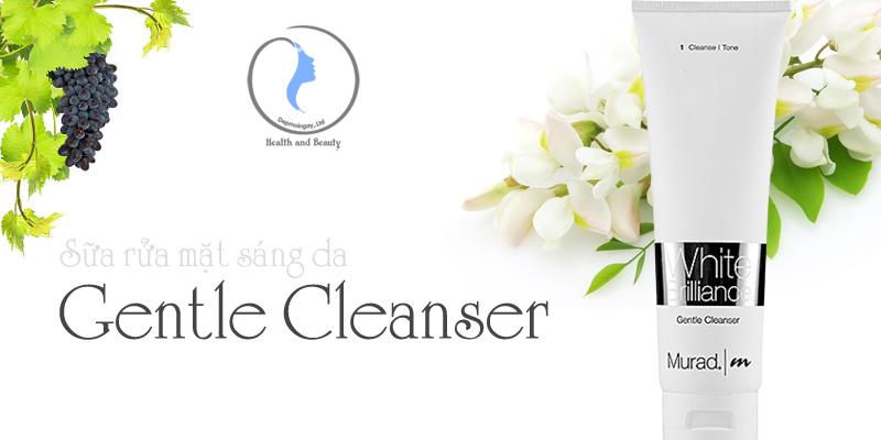 Sữa rửa mặt sáng da Gentle Cleanser