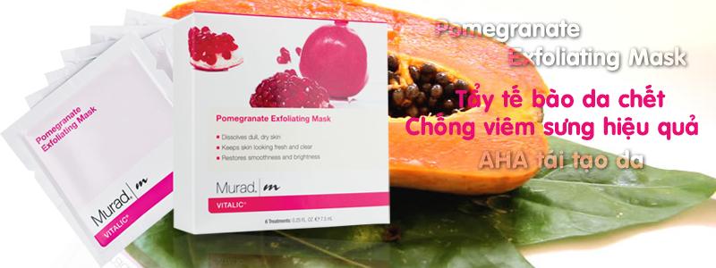 Mặt nạ trị mụn Pomegranate Exfoliating Mask
