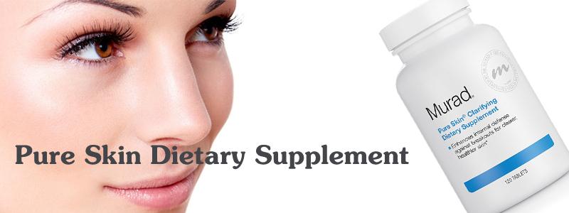 Viên uống giảm mụn Pure Skin Dietary Supplement