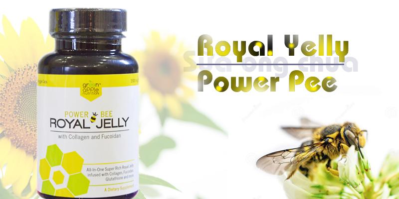 Viên uống sữa ong chua Royal Yelly Power Pee