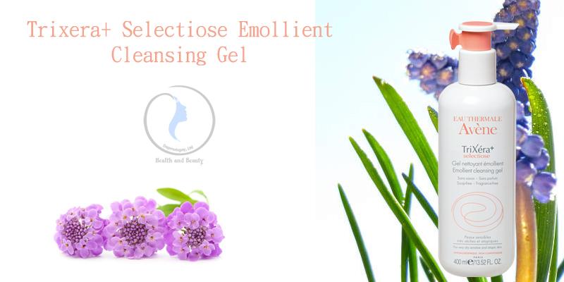 Gel rửa mặt và tắm cho da chàm thế tạng Trixera+ Selectiose Emollient Cleansing Gel 400ml