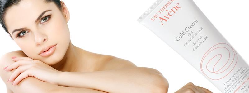 Gel rửa mặt và tắm cho da khô Cold Cream Ultra Rich Cleansing Gel 200ml