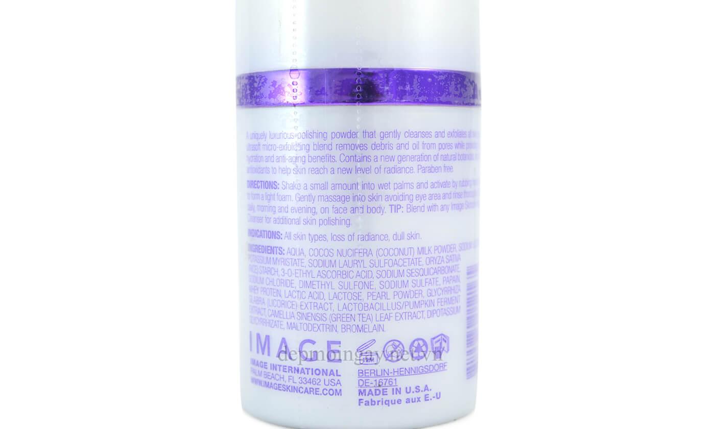 Bột Tẩy Tế Bào Chết Image Iluma Intense Brightening Exfoliating Powder