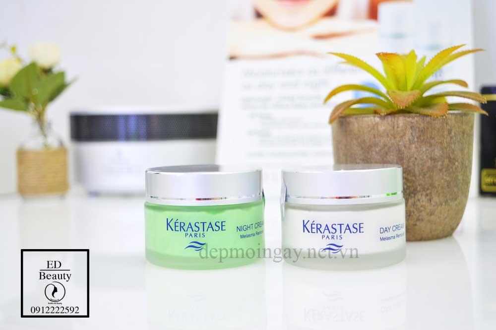 Kem trị nám sâu ban đêm Kerastase Night Cream Melasma Removal 50ml