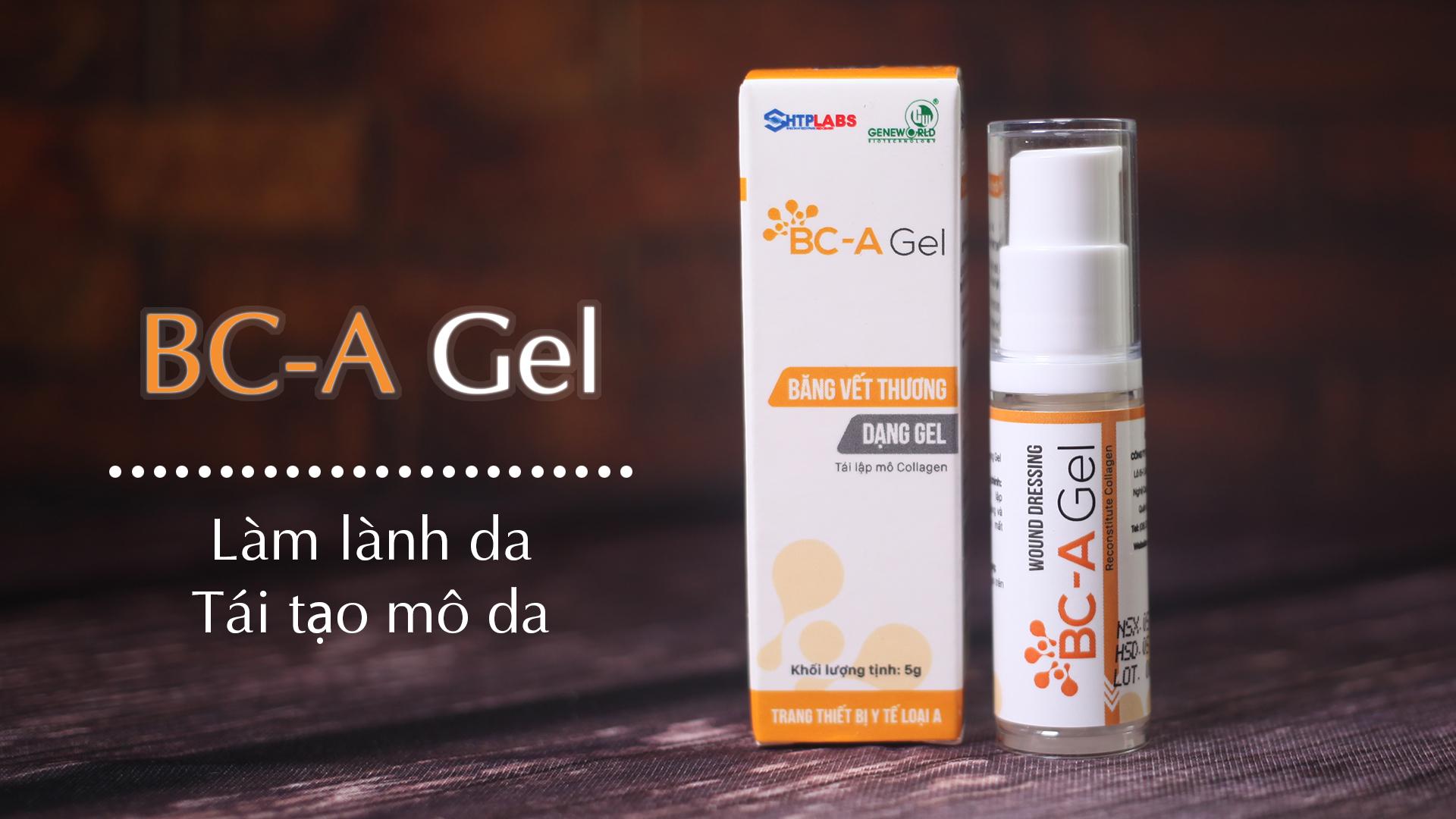 Băng vết thương dạng Gel BC-A Gel 5g